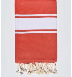 FLAT POPPY RED FOUTA