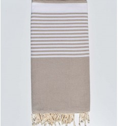 Grege striped throw