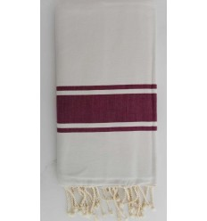 flat white striped plum fouta