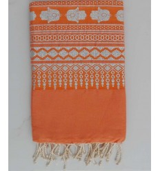 Khomsa burnt orange fouta