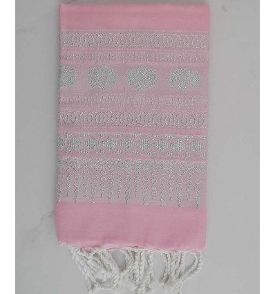 KHOMSA light pink fouta