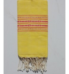 Thalasso orpiment yellow and red fouta