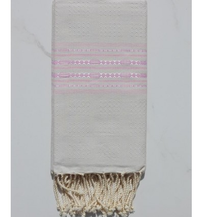 Thalasso light blue and pink fouta