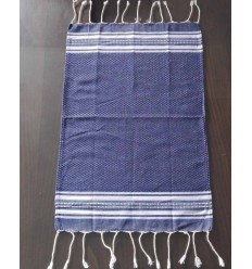 Mini navy blue fouta
