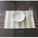 Mini white and green fouta