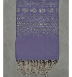 KHOMSA lavender purple 1.35m*2.3m fouta