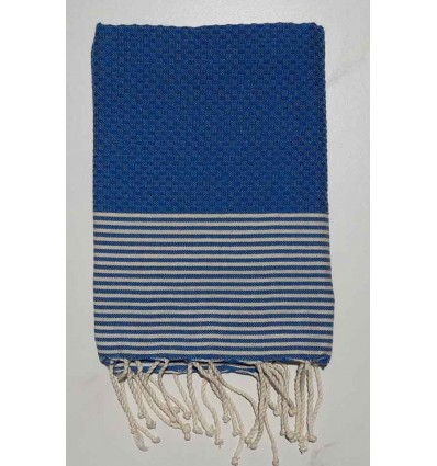 Honeycomb klein blue child fouta