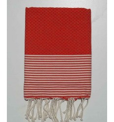 Honeycomb orange child fouta