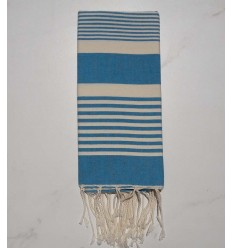 Arthur azure blue child fouta