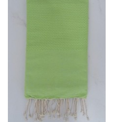 Plain honeycomb meadow green fouta