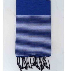Honeycomb klein blue fouta