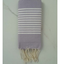 Honeycomb Pastel purple Fouta