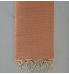 light salmon beach towel