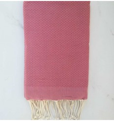 candy pink beach towel