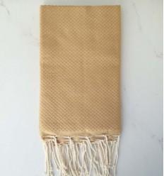 bronze beach towel