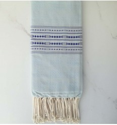 thalasso sky blue beach towel