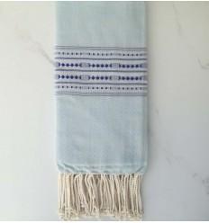 thalasso sky blue beach towel