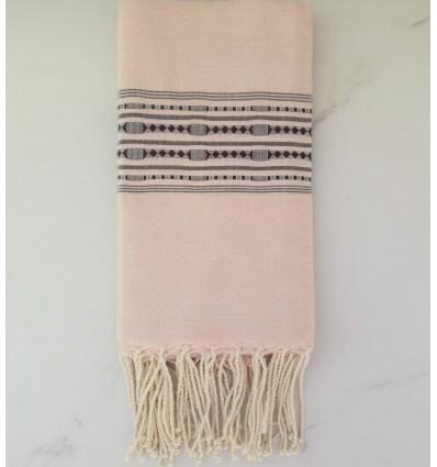 thalasso Antique white beach towel