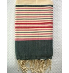 Ziwane 5 colors navy blue fouta