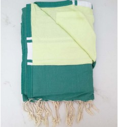 Terry grass green fouta