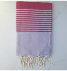 arthur purple and pink beach towel