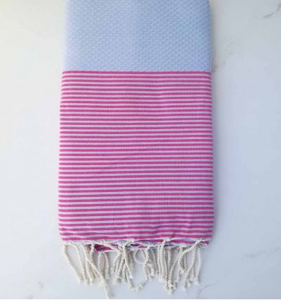 honeycomb blue lavender striped pink