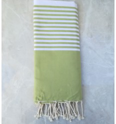 Android green throw