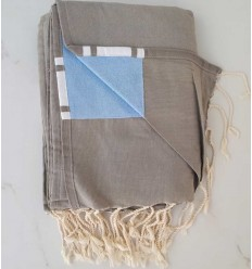 Terry grey fouta