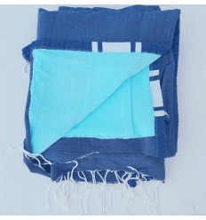 Terry blue jeans Fouta