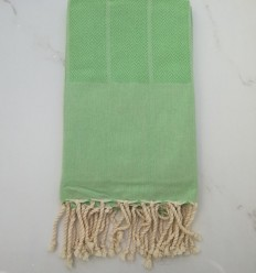 chevron green fouta