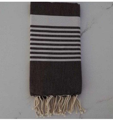 Arthur dark brown fouta