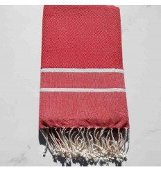Chevron red Fouta