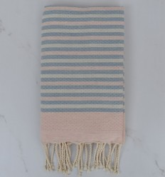 Beach Towel 3 colors striped 1 cm