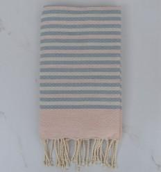 Beach Towel 3 colors striped 1 cm