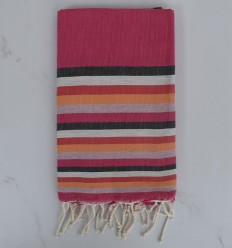 Beach Towel flat 6 colors with stripes