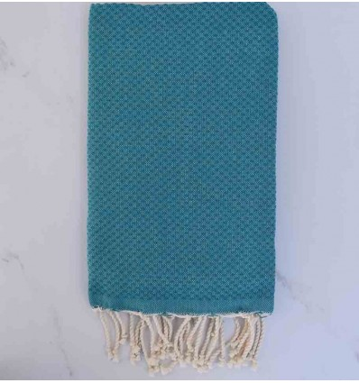 Beach Towel solid color blue Duck