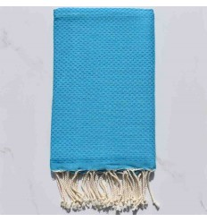 Beach Towel solid color heavenly blue