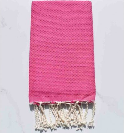 Beach Towel color pink chewing gum