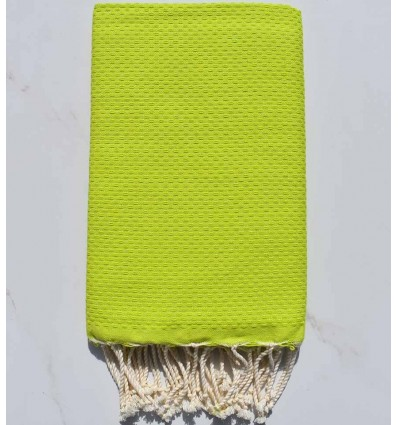 Bath Towel solid color lime green