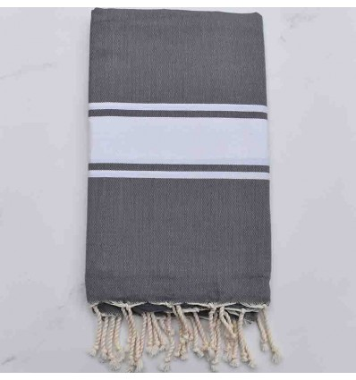 Beach Towel medium gray