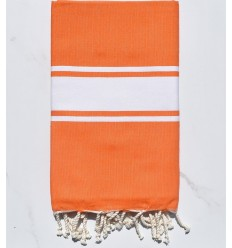 Beach Towel bright orange