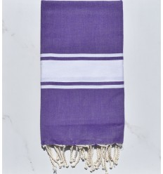 Beach Towel purple amethyst