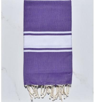 Beach Towel purple amethyst