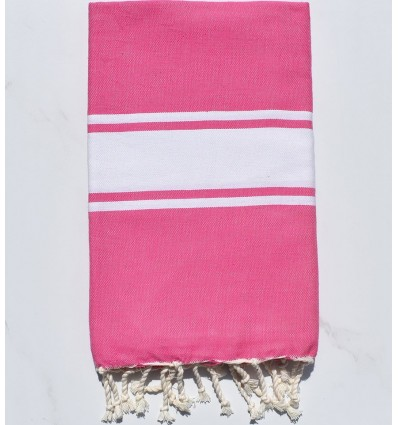Beach Towel pink chewing gum