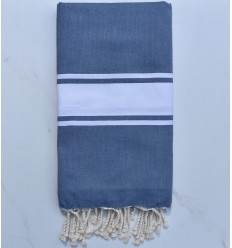 Beach Towel blue woad
