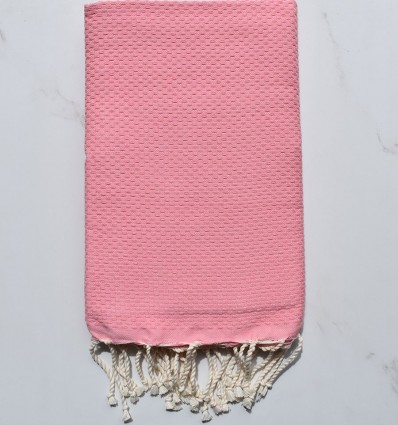 Beach Towel solid color pastel pink