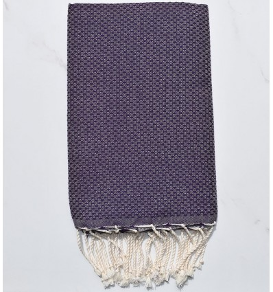 Beach Towel solid color dark purple