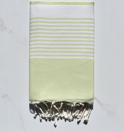 Beach Towel Arthur Light Pastel Green