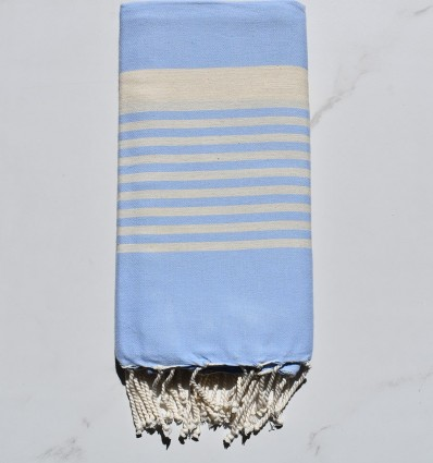 arthur sky blue beach towel