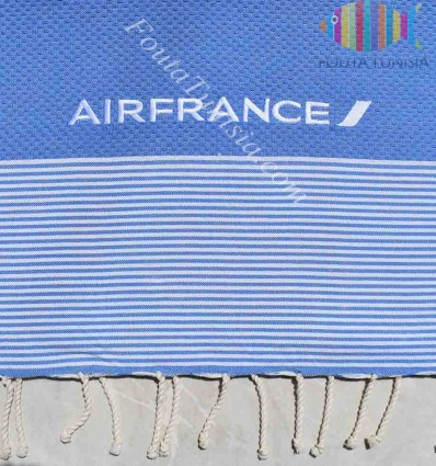 embroidered beach towel AIR FRANCE